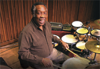 Drummer Clyde Stubblefield