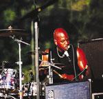 drummer Lester Estelle
