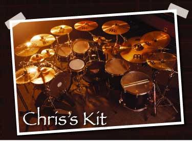 drummer Chris Adler's setup