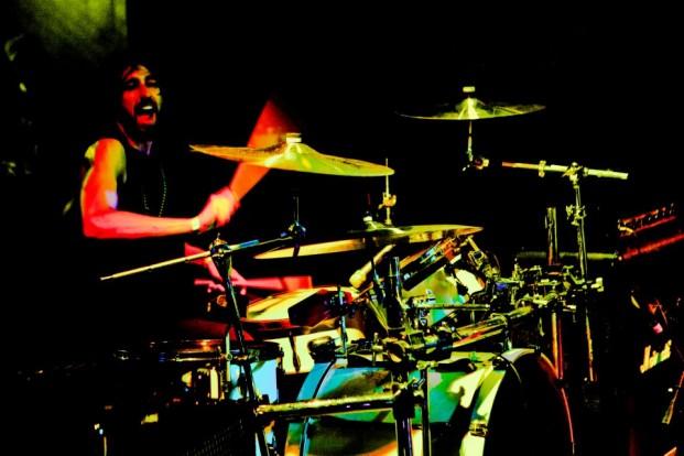 Drummer David Halicky of The Vim Dicta