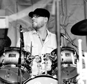 Drummer Rob Mitzner of I'm in You Blog