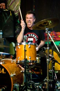 Drummer Al Pahanish Jr. of DYS