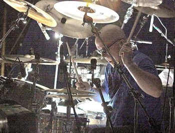 Drummer Pat McDonald of The Charlie Daniels Band