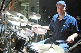 Drummer Kevin Johnson
