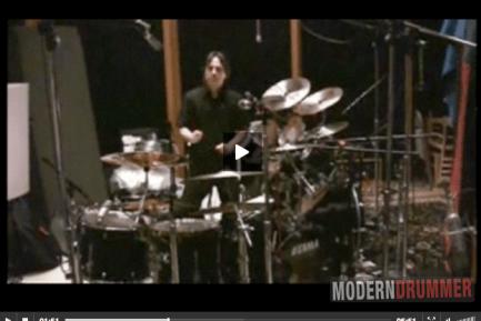 Dave Lombardo Drum Tour Part 2 Video : Modern Drummer