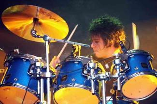 Garrett Ziff of Age Of Evil : Modern Drummer