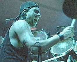 Drummer Dave Lombardo