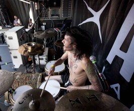 Mike Fuentes of Pierce The Veil Modern Drummer Drummer Blog