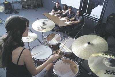 College Bound! Modern Drummer Feature Story
