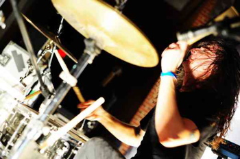 Drummer Phil Chamberlain of To Speak Of Wolves