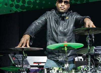 The Black Eyed Peas' Keith Harris in Modern Drummer Magazine