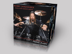 Platinum Samples Bobby Jarzombek Metal MIDI Groove Library : Modern Drummer
