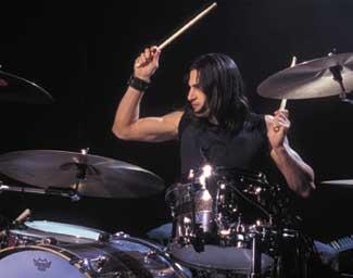 drummer Brad Wilk of Audioslave