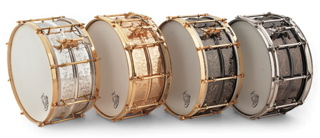 Listen to sound files of Joyful Noise Elite series snares.