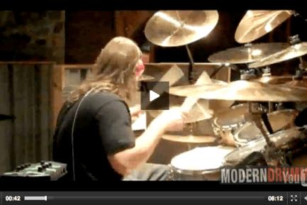 Bobby Jarzombek : Modern Drummer