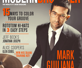 November 2014 Issue of Modern Drummer featuring Mark Guiliana
