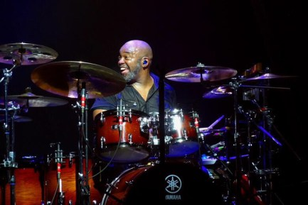 Drummer Abe Fogle of Rob Thomas