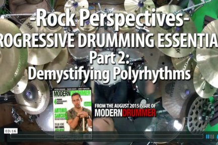 VIDEO LESSON! Progressive Drumming Essentials, Part 2: Demystifying Polyrhythms