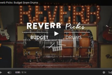 VIDEO DEMO! Get the Most Beat for Your Buck: 4 Options for Building a Primo Snare Collection on a Workingman's Budget