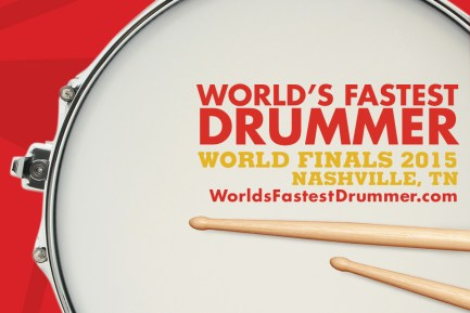 World's Fastest Drummer Contest