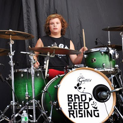 Aiden Marceron of Bad Seed Rising