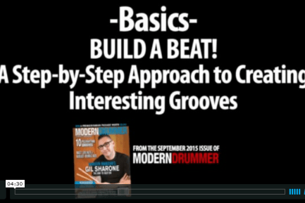 VIDEO LESSON: Build a Beat! A Step-by-Step Approach