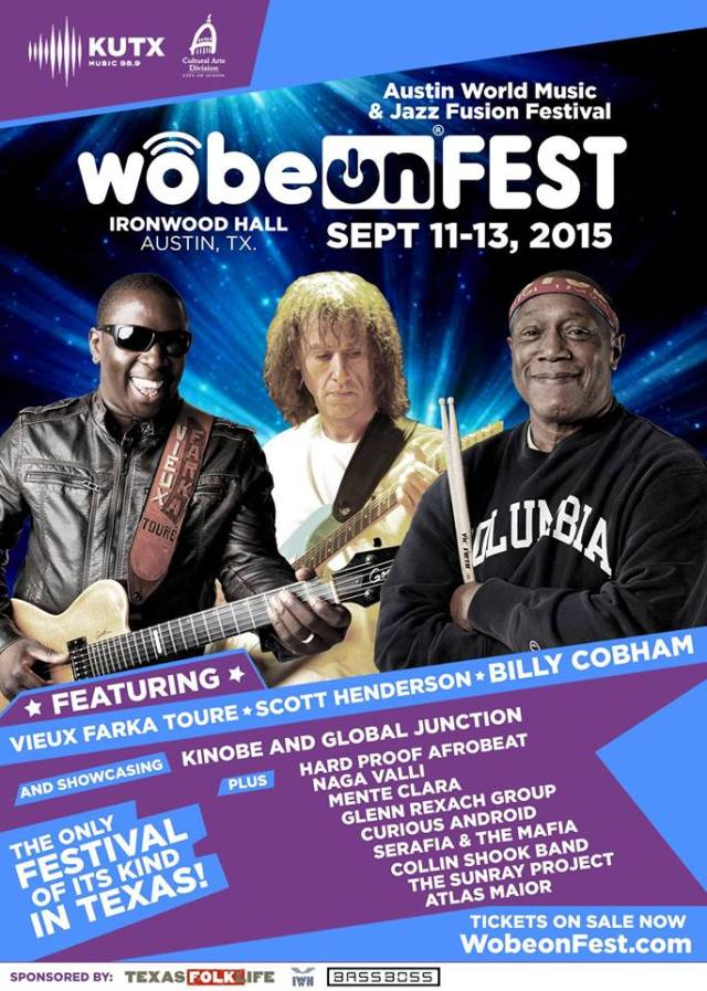 News: Wobeon Announces Addition of One-Day Jazz Fusion Festival