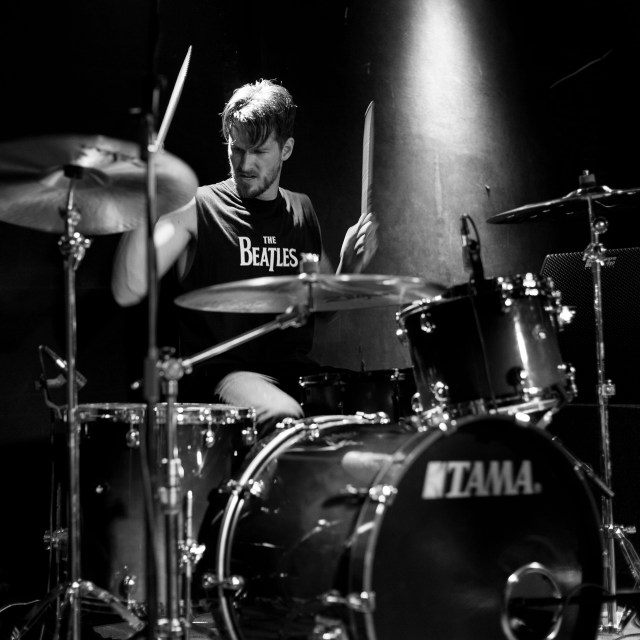 Drummer Ryan Meyer of Highly Suspect