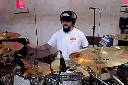 Mike Portnoy Drum Cam Video for New Winery Dogs Track