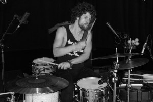 Johnny Radelat - Gearing Up for Modern Drummer Magazine