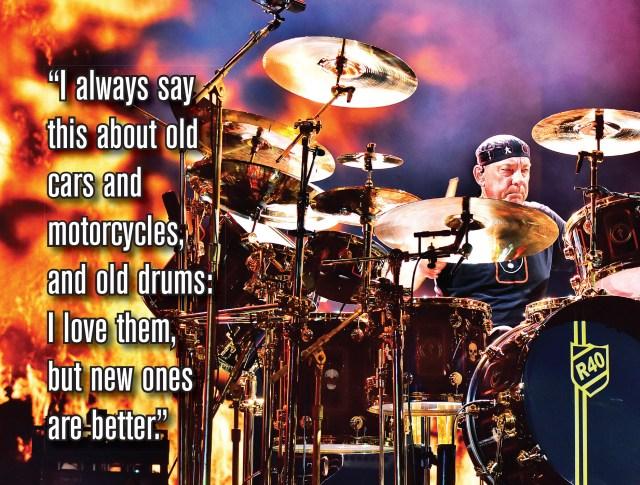 Neil Peart Modern Drummer Magazine