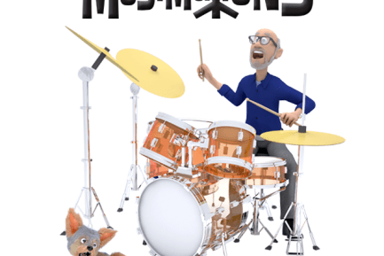 News: Famed Drum Clinician/Educator Dom Famularo Voices Main Character for Animated Series Musimations