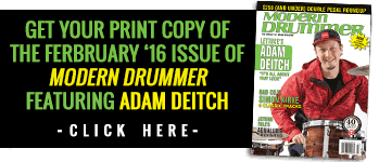 Order A Print Copy Modern Drummer magazine