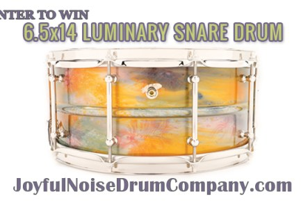 Luminary Series Snare Drum Giveaway