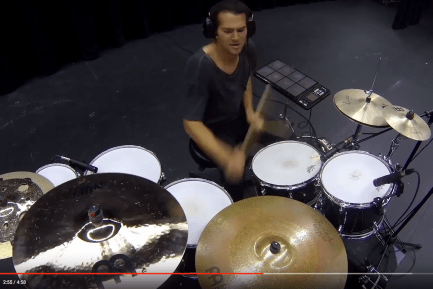 "Aric Improta's ""Drum Chain"" Video"