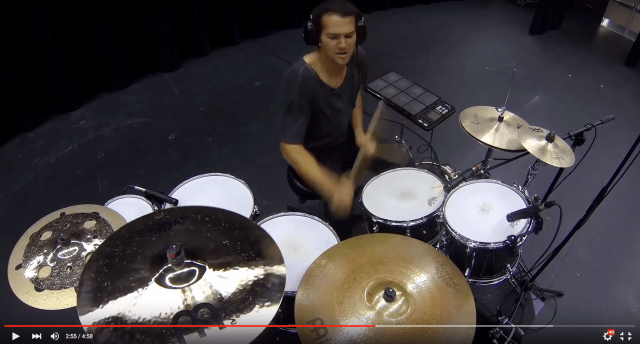 "Aric Improta's ""Drum Chain"" Video"
