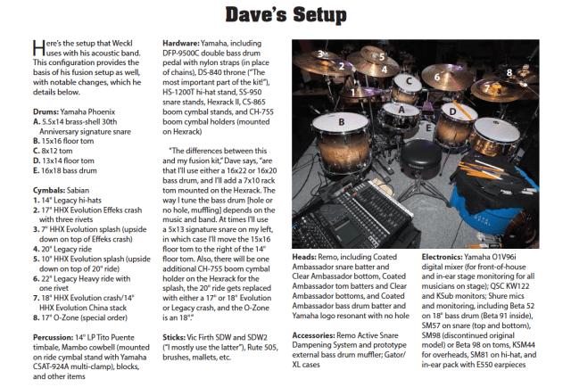 Dave's Setup