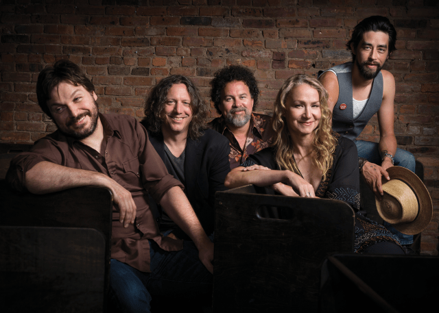 rigger Hippy, featuring the Black Crowes' Steve Gorman (second from left) and singer Joan Osborne
