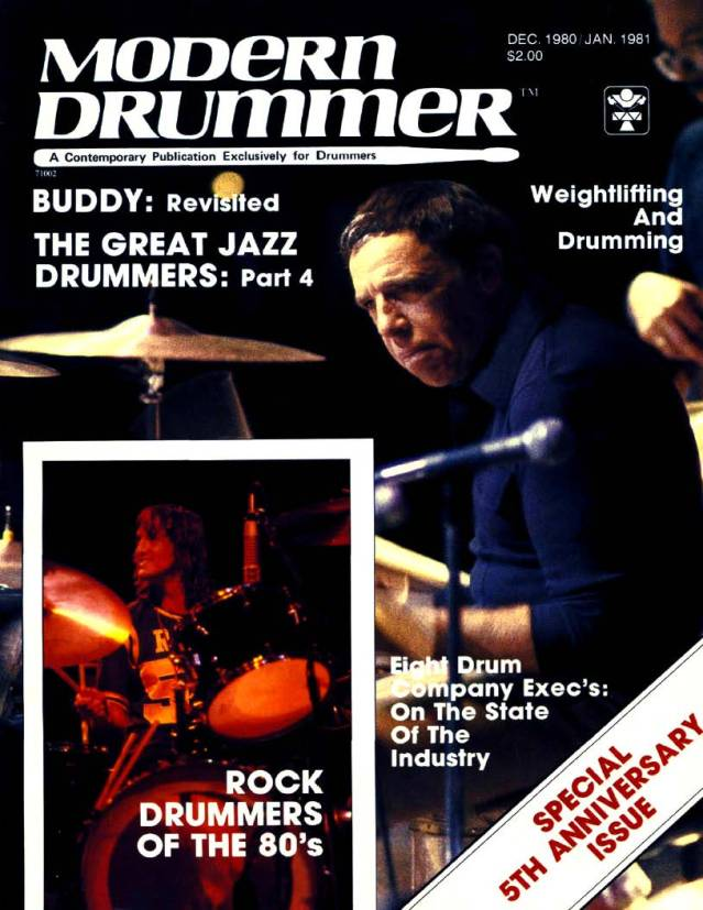 Rock Drummers Of The 80's - Modern Drummer Magazine