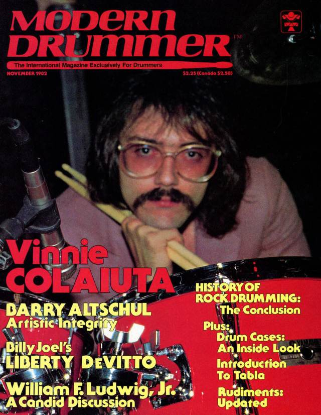 Bob Disalle A View From Toronto Modern Drummer Magazine