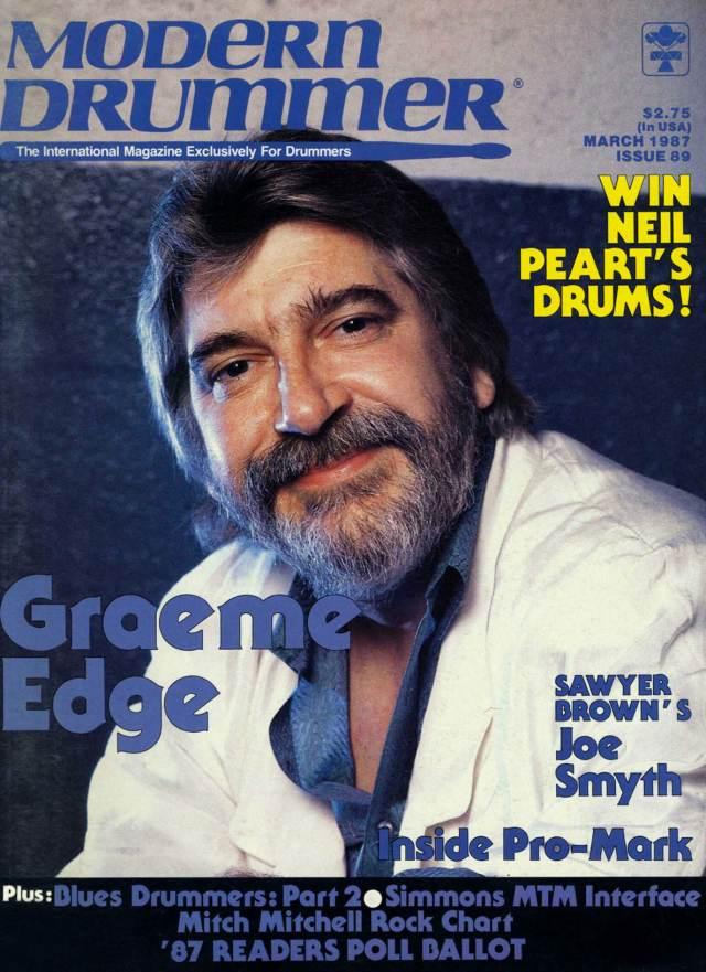 The Moody Blue's Graem Edge - Modern Drummer Magazine