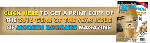 Order A Print Copy of the July Gear of the Year Issue of Modern Drummer