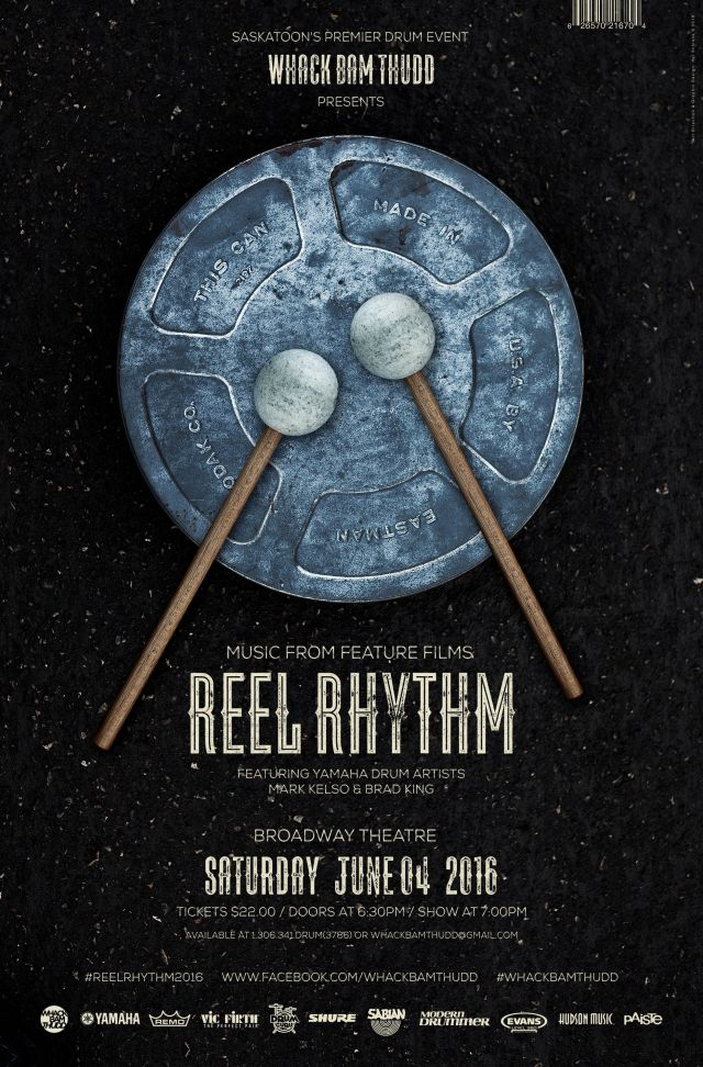 WhackBamThudd Presents Reel Rhythm Percussion Event