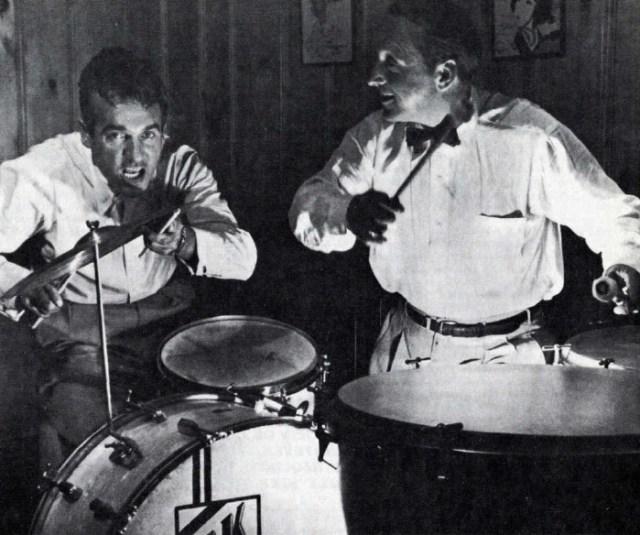 Saul Goodman and Gene Krupa