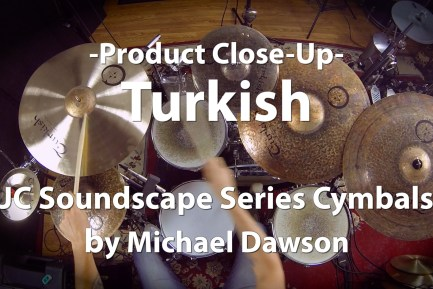 Video Demo: Turkish, JC Soundscape Series Cymbals