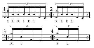 Double Bass Fills 1