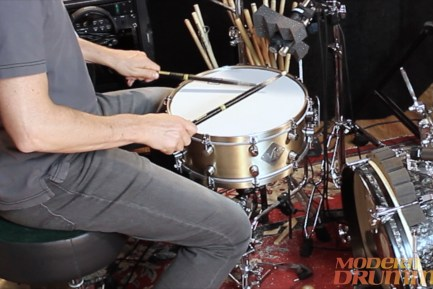 Video Demo! Van Kleef - All Titanium and B20 Bronze Snares