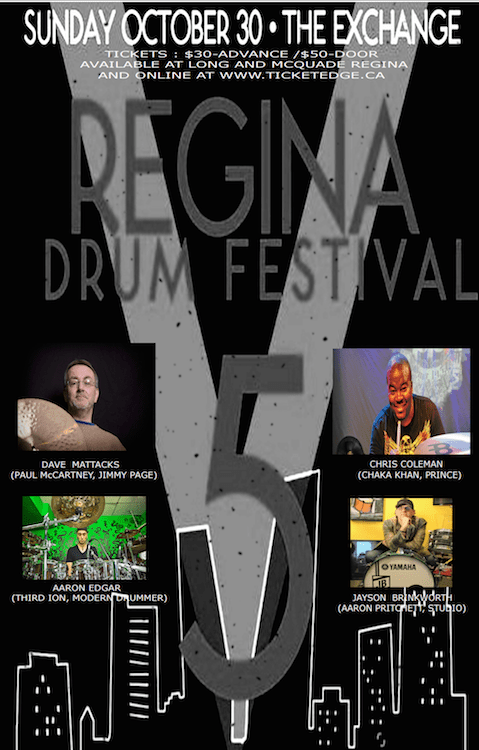 Regina Drum Festival 2016