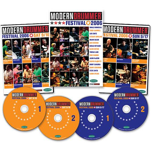 2006 (Saturday and Sunday) Modern Drummer Festival Weekend DVD Set