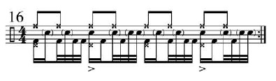 Funk Drumming Changing Subdivisions 9